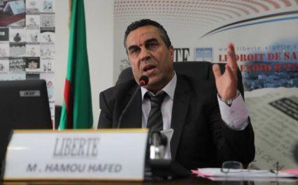 """Dr Hamou Hafed , directeur de la pharmacie au ministère de la santé , à l'expression : """"Nous fabriquons 50% de nos médicaments"""""""