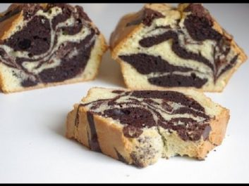 Marbré yaourt – chocholat
