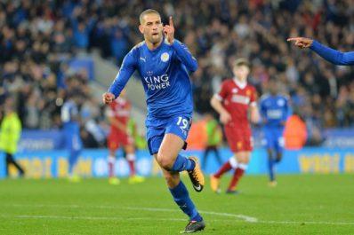 Leicester : Deux clubs de Ligue 1 française se seraient renseignés pour Slimani