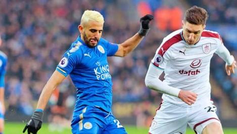 Mahrez élu meilleur joueur face à Burnley