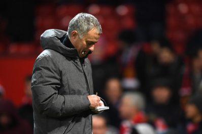 Manchester United : Du lait et de l'eau sur Mourinho, venu se confronter au vestiaire de Man City