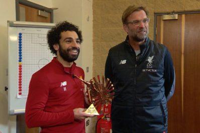 Mohamed Salah succède à Mahrez pour le titre de joueur africain de l'année