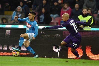 """Naples – Sarri : """"Ounas a des lacunes au niveau tactique et manque de régularité"""""""