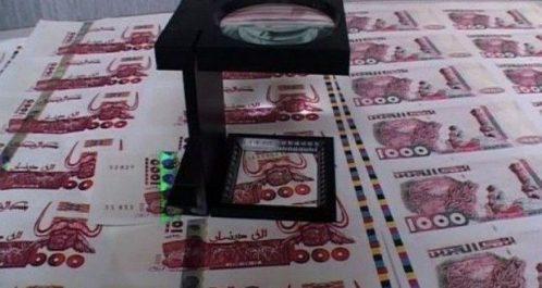 Trafic de faux billets: Le réseau de Ouaguenoun décimé