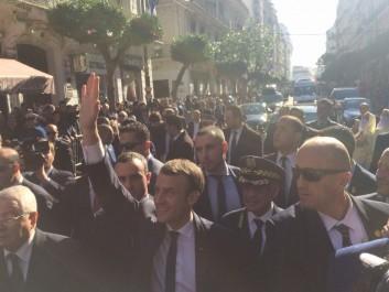 Le président Macron plaide pour un partenariat d'égal à égal avec l'Algérie