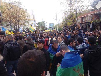 Tizi-Ouzou: Mobilisation historique des étudiants et lycéens