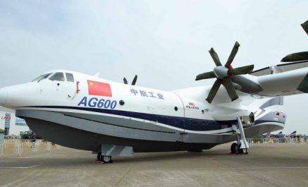 Le plus gros avion amphibie au monde (Vidéo)