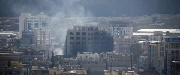 L'Arabie saoudite bombarde Sanaa pour soutenir les partisans de Ali Abdallah Salah contre les Houthis
