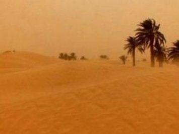 BMS : Activité pluvio-orageuse sur le Sahara central et les Oasis à partir de jeudi soir