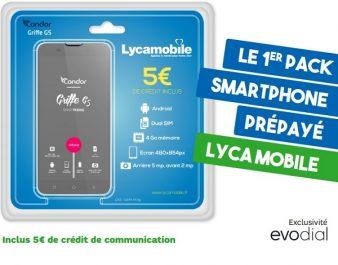 Lancement en France des packs  Lycamobile- Condor