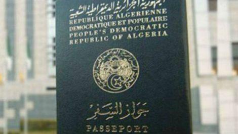 Passeport algérien: Et si nous le laissions choisir pour une fois