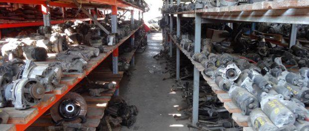 MOSTAGANEM : 18,19 tonnes de pièces de rechange de véhicules refoulées