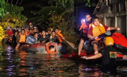 Tempête tropicale aux philippines : 133 morts, selon un nouveau bilan officiel