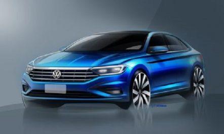 Volkswagen Group : Croquis officiels de la nouvelle Volkswagen Jetta