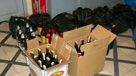 Découverte d'un atelier prohibé de concoction de vin