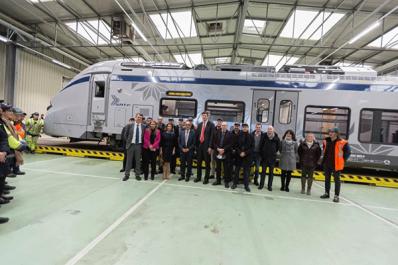 SNTF: L'Algérie reçoit son premier train hybride