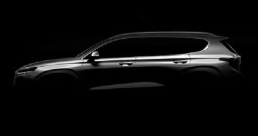 Salon de Genève 2018 : Hyundai tease le nouveau Santa Fe
