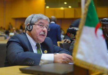 L'Algérie encourage toutes les initiatives de paix en Afrique