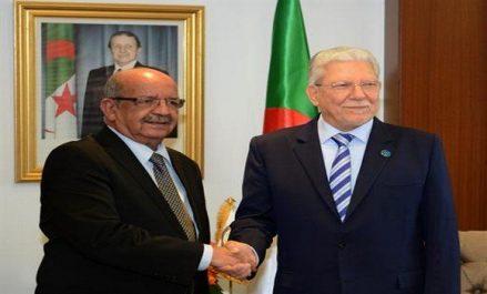 Messahel reçoit le secrétaire général de l'Union du Maghreb arabe
