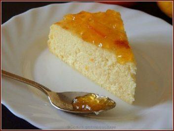 Gâteau de semoule aux agrumes