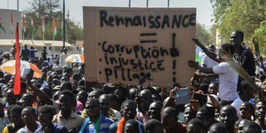Niger: manifestation contre la loi de finances 2018