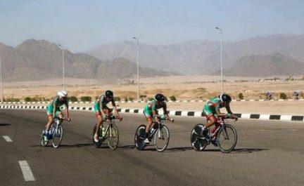 Le Marocain Abdallah Heida remporte le 1er tour international cycliste des Ziban