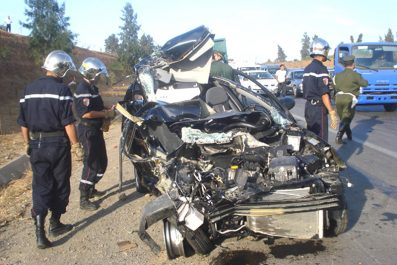 Accidents de la route : 19 morts et 950 blessés en une semaine