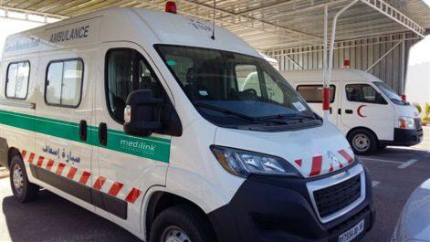Pour les évacuations sanitaires d'urgence: Quatre nouvelles ambulances pour les établissements de santé