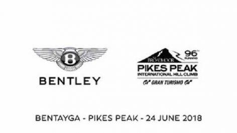 Volkswagen Group : Le Bentley Bentayga e frottera au Pikes Peaks
