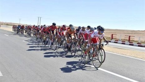 Yennayer/Course régionale cycliste à Sidi Bel-Abbès: illustration des coureurs d'Aïn Témouchent