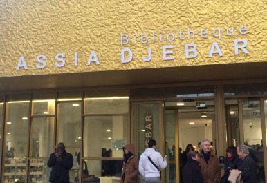 Ouverture de la bibliothèque Assia Djebar à Paris