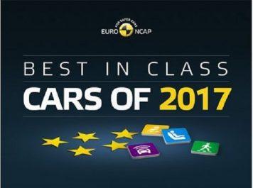 Euro Ncap : Les meilleures de 2017, par catégorie