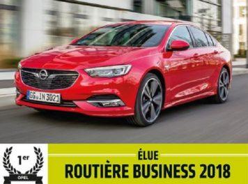 Groupe PSA : L'Opel Insignia élue « routière business de l'année 2018 »