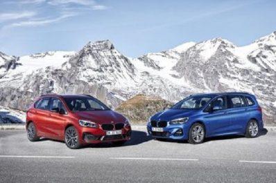 Salon de Bruxelles : Restylage pour les BMW Série 2 Active Tourer et Série 2 Gran Tourer