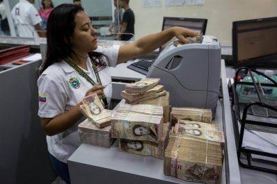 L'inflation au Venezuela a atteint 2 616% en 2017!