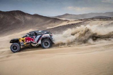 Dakar 2018 ( 2ème étape) : Triplé des Peugeots