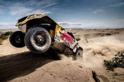 Dakar 2018 (Etape 4) : Nouveau triplé des Peugeot 3008DR Maxi