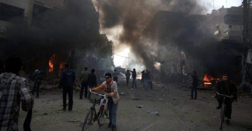 Syrie : 24 morts dont 10 enfants dans des bombardements sur un fief rebelle