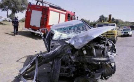 Accidents de la route à guelma : 34 morts et 1 249 blessés en 2017