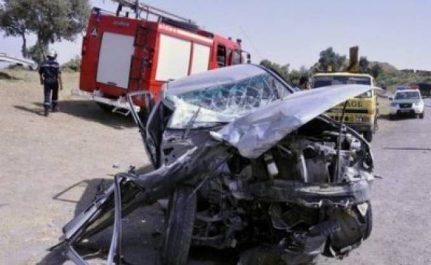 SAÏDA : Deux morts et cinq blessés graves dans deux accidents de la route