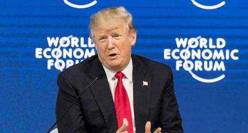 Trump s'emploie à séduire Davos : «L'Amérique d'abord n'est pas l'Amérique seule»