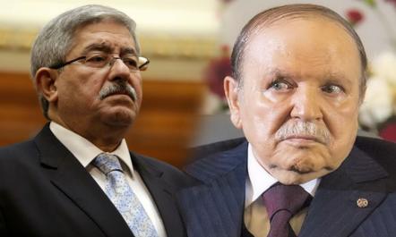 Ahmed Ouyahia rappelé à l'ordre par Bouteflika