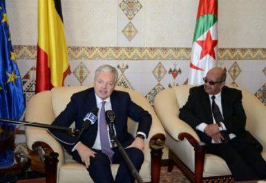 La Belgique veut renforcer ses relations politiques et économiques avec l'Algérie