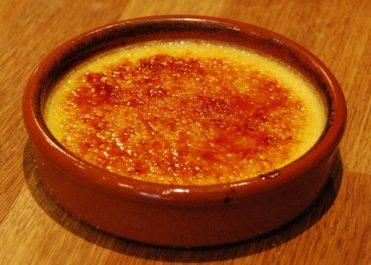 Crème brûlée au sucre
