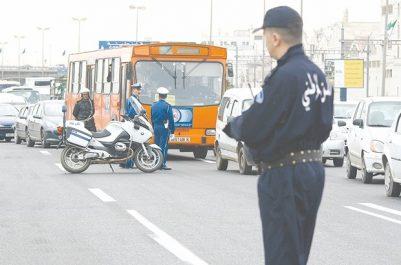 La capitale a de nouveau été quadrillée hier Alger, cité interdite