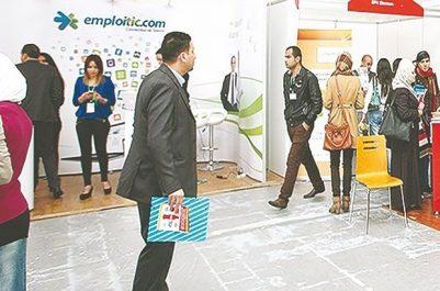 """""""Carrefour emploi et Carrefour formation continue"""" Grand rush à l'ouverture du salon"""