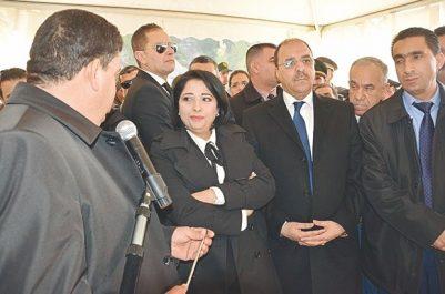 La ministre de l'environnement et des énergies renouvelables à Médéa : Inauguration du cet de Ksar El-Boukhari