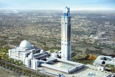 Grande Mosquée d'Alger: entame des opérations de décoration