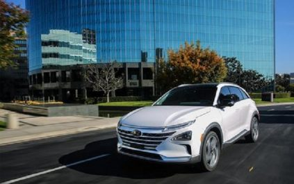 CES 2018 : Nexo, le véhicule électrique alimenté à l'hydrogène Hyundai