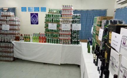 Blida : Saisie de 2.354 bouteilles de boissons alcoolisées, une arrestation